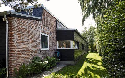 Tilbygning til et Johan Christensen hus