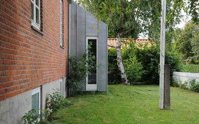 Tilbygning til en murermestervilla